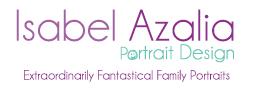 Logo Isabel Azalia Portrait Design